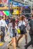 企业亚洲人妇女 免版税库存图片