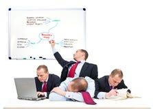 企业人员唯一小组 免版税库存照片