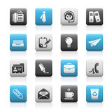 企业伙伴办公室系列 库存例证