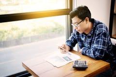 企业会计人,挽救,财务,经济概念 免版税库存照片