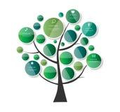 企业传染媒介例证的Infographic模板 EPS10 免版税库存照片