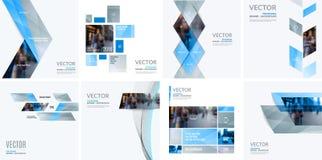 企业传染媒介图表布局的设计元素 现代摘要 免版税图库摄影
