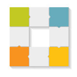 企业传染媒介的Infographic模板 免版税图库摄影