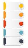企业传染媒介的Infographic模板 免版税库存照片