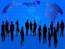 企业例证人向量 免版税图库摄影