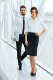 企业例证JPG人向量 成功的商务伙伴 企业咖啡夫人人扩音机小组 免版税库存照片