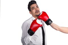 企业保护免受竞争概念 免版税库存图片