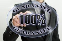 企业保证 免版税库存图片