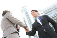 企业信号交换人 免版税图库摄影