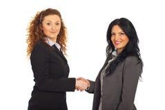 企业信号交换妇女 免版税图库摄影
