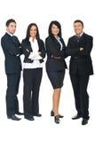 企业充分的组长度人员 库存图片