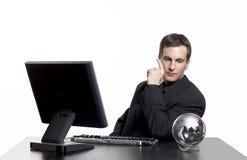 企业全球认为您 免版税库存照片