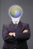 企业全球metaphore 免版税库存照片