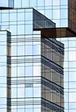 企业公司大厦、玻璃和钢 免版税库存图片