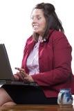 企业冲击状态妇女 免版税库存照片