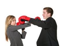 企业冲突 免版税库存照片