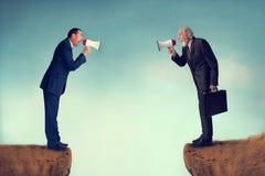 企业冲突 免版税图库摄影