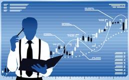 企业分析员 免版税图库摄影