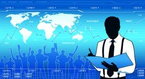 企业分析家 免版税库存照片