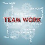 企业创新和小组工作 免版税图库摄影