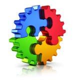 企业创造性和成功概念 库存例证