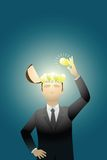 企业创造性 免版税库存照片