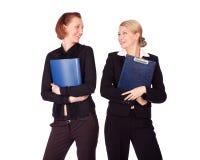 企业前妇女 免版税库存照片