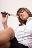 企业剪切行业系列喉头 免版税库存图片