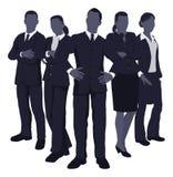 企业动态小组年轻人 免版税库存照片