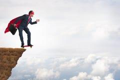 企业勇敢勇气概念 库存照片