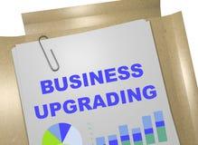 企业升级-表现概念 免版税图库摄影