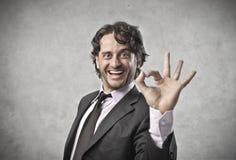 企业协议 免版税图库摄影