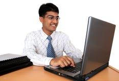 企业印第安人年轻人 免版税图库摄影