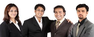 企业印第安小组年轻人 图库摄影