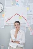 企业危机概念 库存图片