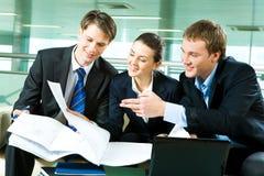 企业合作 免版税库存图片