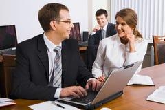 企业同事人培训 免版税图库摄影