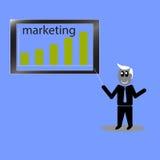 企业和投资目标 图库摄影