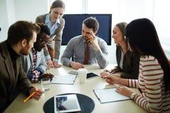 企业咨询 免版税图库摄影