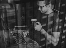 企业商业连接运作的事业概念 免版税库存照片