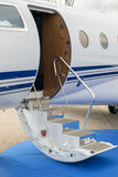 企业喷气机入口 库存照片