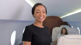 企业喷气机旅行 影视素材