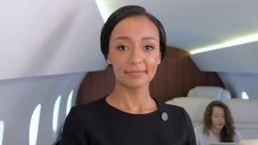 企业喷气机旅行 股票视频