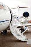 企业喷气机飞机 免版税图库摄影