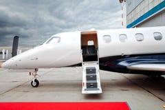 企业喷气机飞机 库存照片