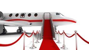 企业喷气机 库存例证
