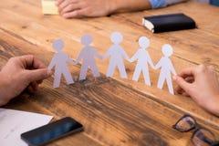 企业团结概念 库存图片