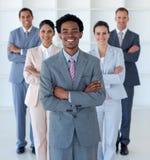 企业国际办公室小组 库存照片