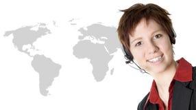 企业国际妇女 免版税库存照片