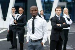 企业国际现代办公室小组 免版税库存照片